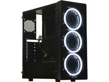 10 Core Gaming Neon Computer Desktop PC Tower 2 TB  16GB R7 Graphic CUSTOM BUILD