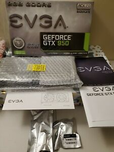 Open Bx EVGA GeForce GTX 950 02G-P4-2958-KR 2GB FTW GAMING Silent Cooling Gaming
