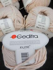 (88 € /kg): 300 Gramm Gedifra Modern Cotton, Fb.3204 natur  #2538