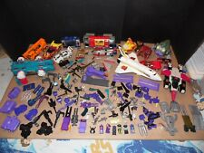 G-1 Transformers lot of 16 Bodies and 136 Parts and Weapons