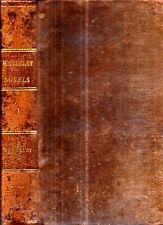 1836 FINE LEATHER WAVERLY SIR WALTER SCOTT SCOTLAND CLASSIC 1ST HISTORICAL NOVEL