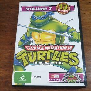 TMNT Teenage Mutant Ninja Turtles DVD Volume 7 R4 LIKE NEW FREE POST