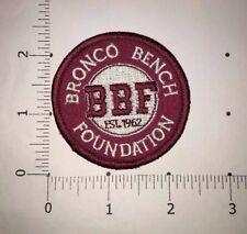 Bronco Bench Foundation Patch