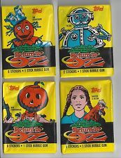1985 Topps Return to Oz single Wax Pack