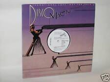 """Sylvie Vartan 12"""" PROMO Record I Don't Want The Night"""