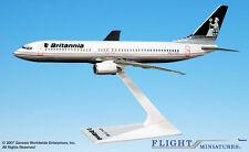 Flight Miniatures Britannia Airways  Boeing 737-800 1:200 Scale Display Mint