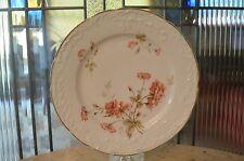 Vintage CT Carl Tielsch China Pink Flower Design Plate - Germany