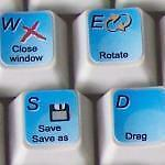 GRAPHISOFT ARCHICAD KEYBOARD STICKERS