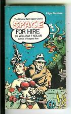 SPACE FOR HIRE by William F. Nolan, US IPL sci-fi crime gga pulp vintage pb