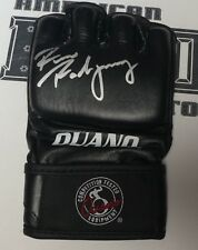 Ricco Rodriguez Signed Official Ouano MMA Fight Glove BAS Beckett COA UFC Auto'd