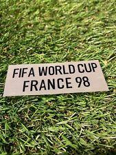 Fussball Patch Weiss WM 1998 World Cup Deutschland Trikot Weltmeisterschaft