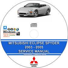 mitsubishi eclipse 2003 2005 service repair manual