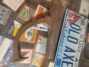 Vintage PEAVEY LOG ROLLER Socket Oakland ME.reuse refurbish repurpose Americana☆