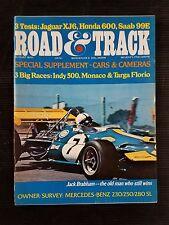 Road & Track Aug 1970 Mercedes-Benz 230 250 & 280SL - Jaguar XJ6 - Triumph Stag