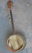 "1940s Kay ""S.S. Stewart Professional"" Tenor Five-String Banjo. Repair Project."