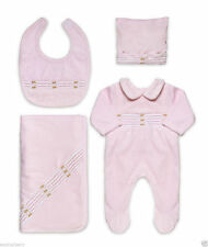 Velour Embroidered Outfits & Sets (0-24 Months) for Girls