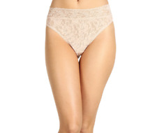 Hanky Panky Beige Signature Lace French Bikini Underwear Women's Size M 1883