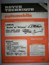 LANCIA Delta et Prisma 1300 1500 1600 1600GT 1600HF - Revue Technique Automobile