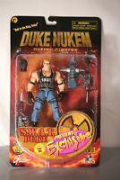 RARE Duke Nukem 3D Realms 1998 Previews Exclusive SWAT Duke Action Figure