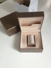 Bulgari - Bvlgari watch box with outer box & customer care book, new condition