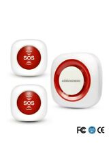 Personal Caregiver Pager Care Wireless SOS Alarm System Call Panic Help Aids