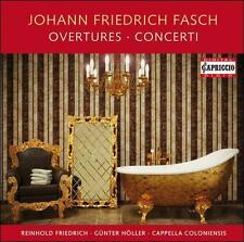 Fasch: Overtures & Concerti, New Music