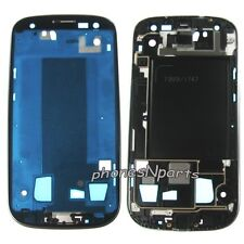Original Samsung Galaxy S3 i747 T999 Frame Mid Chassis Housing Silver Bezel