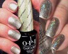 OPI Gelcolor IS THIS STAR TAKEN? Gold Holographic Glitter UV/LED Gel Nail Polish