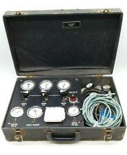 Vintage Pneumatic Control Calibration Kit In Vintage Case