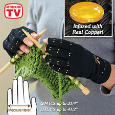 Copper Hands Arthritis Gloves As Seen on Tv Therapeutic Compression New S-M Size