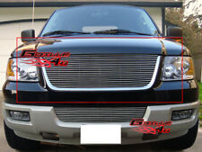 Fits 2003-2006 Ford Expedition Main Upper Billet Grille Insert