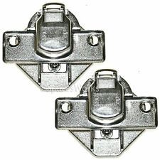 2 x BEKO Washing Machine Door Hinges Pair 2827210100  WI1483 WMI61241 WI1382