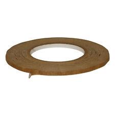 JVCC FPPT-01 Kraft Flatback Paper Packaging Tape: 1/4 in. x 60 yds. (Brown)