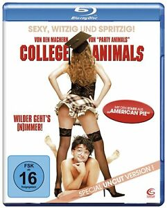 Blu-ray: College Animals - Special Uncut Version
