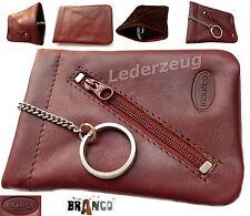 Branco Schlüsseltasche Leder Schlüsselglocke Autoschlüssel Tasche Börse braun NE