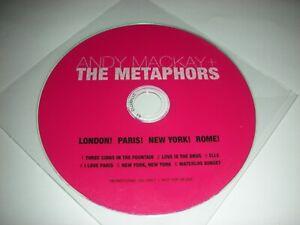 Andy Mackay + The Metaphors - London! Paris! New York! Rome! - 6 Track