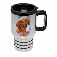 Dachshund Red Stainless Steel 16oz Tumbler