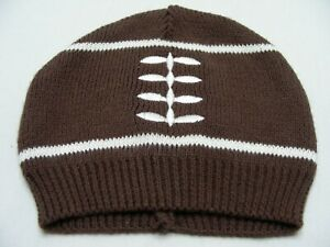 FOOTBALL - So Dorable - 0-6 Months Size Stocking Cap Beanie Hat!