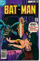Batman 295 VG/FN Mark Jeweler Insert DC Comics 1978 Sacrifice Cover Magic Show