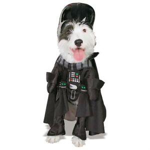 Star Wars Darth Vader Pet Costume Halloween Cosplay Dress up Rubies Large