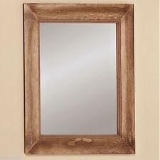 Badezimmer-Spiegel aus Holz mit mittlerer Breite (30cm-60cm)