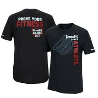 Reebok CrossFit 2013 CrossFit Games Open Athlete Men's Black Premium T-Shirt