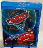 Disney: Cars 2 (New Blu-ray+DVD) Widescreen, Region A, John Lasseter