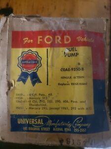 NOS Fuel Pump COAE-9350-B 1954-62 Ford, Mercury, Edsel 312 352 390 406 59 60 61