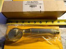 Brasstech Hand Shower w/ Grooved Handle Forever Brass P/N 280/01