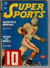 Super Sports Jan 1950 Football cover