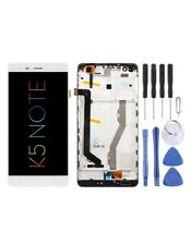 DISPLAY LCD SCHERMO TOUCH SCREEN Lenovo K5 Note FRAME BIANCO