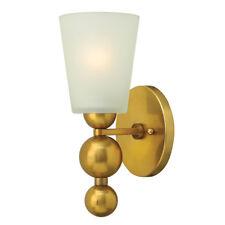 hinkely Iluminación ZELDA 1 Litro Lámpara de Pared Vintage Latón 1x 60w E27