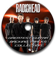 40 x RADIOHEAD STYLE ROCK GUITAR MP3 BACKING TRACKS CD ANTHOLOGY LIBRARY