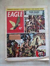 Eagle Comic Vol 10 No 29: Dan Dare BRITISH COASTAL CRAFT & GERMAN E-BOAT OF WWII